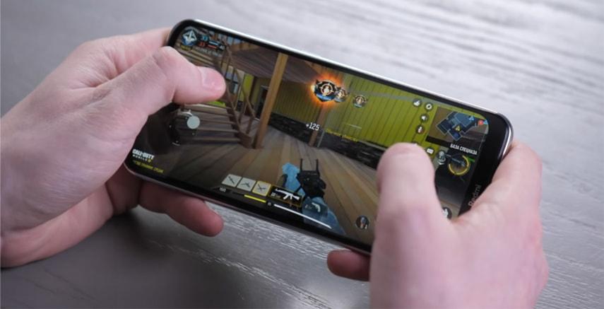 Хороший IPS дисплей у смартфона Redmi Note 8T