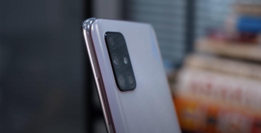 Камера смартфона Galaxy A51