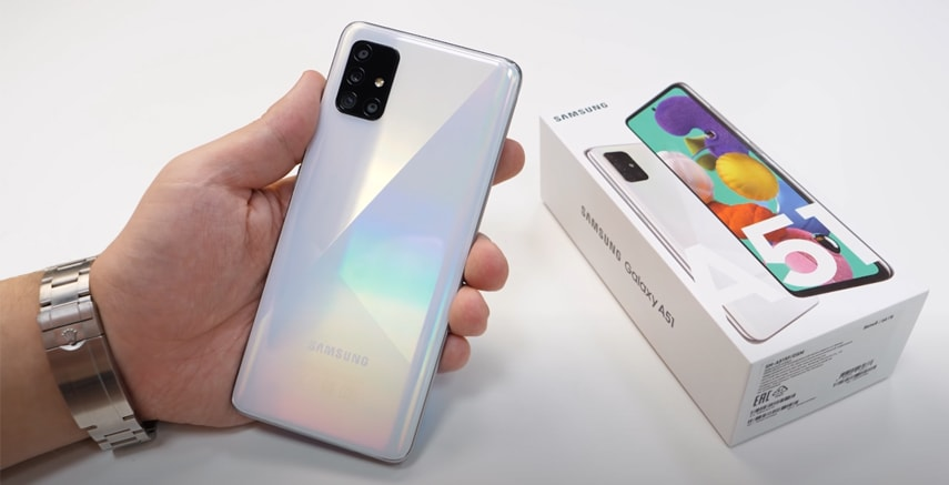 Обзор и характеристики смартфона Galaxy A51