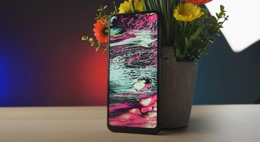 Дизайн смартфона HUAWEI Y6p