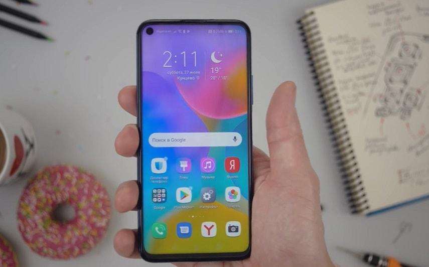 Экран смартфона Honor 20 Pro