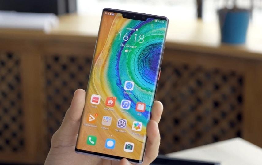 Экран смартфона Huawei Mate 30 Pro