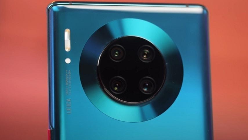 Камера смартфона Huawei Mate 30 Pro