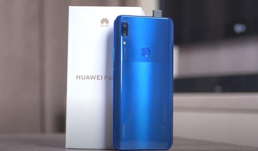 Дизайн смартфона HUAWEI P smart Z