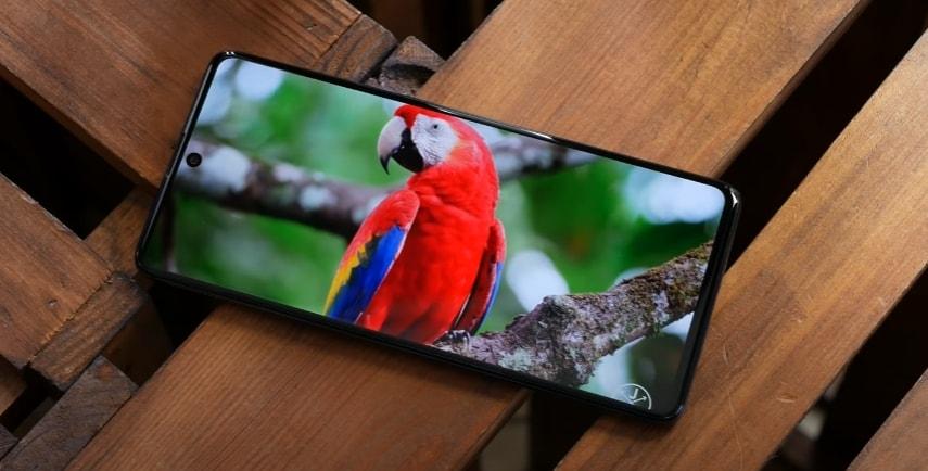 Экран смартфона Samsung Galaxy A71