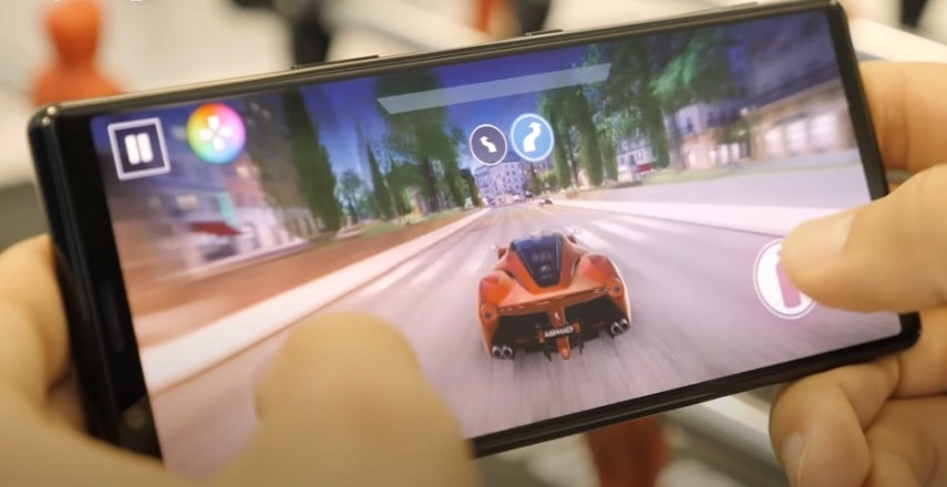 Экран смартфона Sony Xperia 5