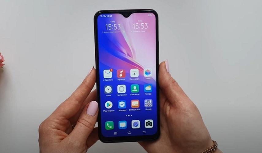 Экран смартфона Vivo Y11