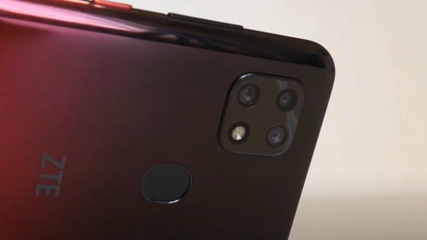Камера смартфона ZTE Blade 20 Smart