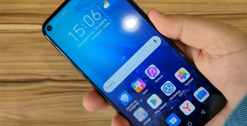 IPS экран у смартфона Honor 20