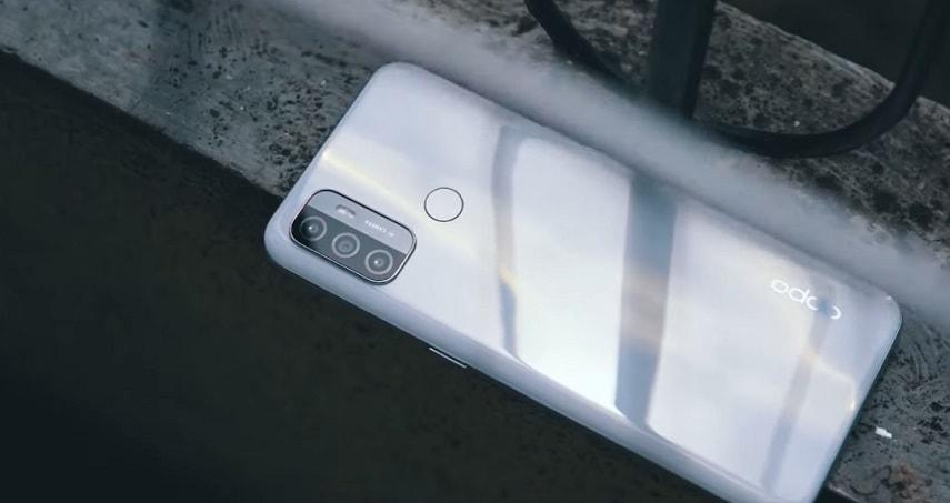 Дизайн смартфона OPPO A53